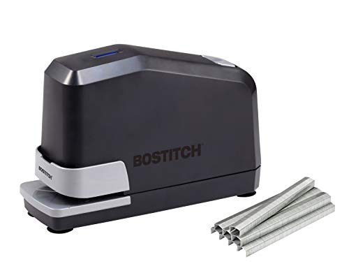 Bostitch Impulse 45 Sheet Electric Stapler Value Pack - Double Heavy Duty, No-Jam with Trusted Warranty Guaranteed by Bostitch, Black (B8E-Value)