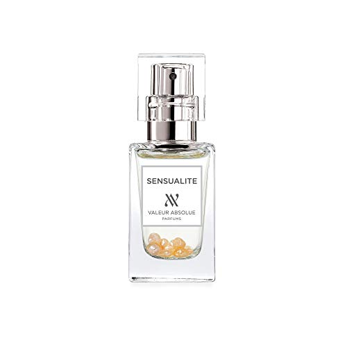 Valeur Absolue Sensualité Perfume | Uniquely Crafted to Inspire Sensuality | Floral & Woody | Handmade in Southern France | 0.47 Fluid Ounces