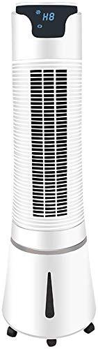 XPfj Refrigeradores evaporativos Ventilador Refrigerador de aire, refrigeración por aire doméstico, refrigeración móvil (color : blanco)