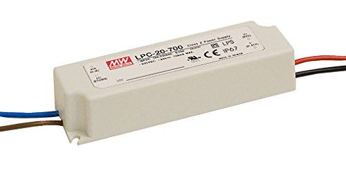 Mean Well lpc-20–700-Player–Quelle Netzteil (90–264V, 47–63HZ, weiß, 30–70°C,-40–80°C, 20–90%)