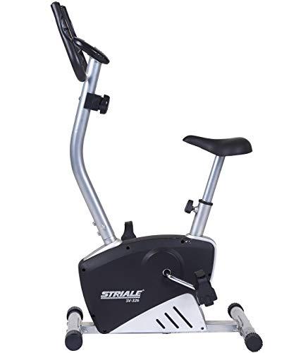 Striale SV-326 Bicicleta magnética Indoor, Unisex, Gris
