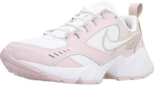 Nike Air Heights, Running Shoe Womens, Rosado Ligero/Blanco/Piedra Fósil, 37.5 EU