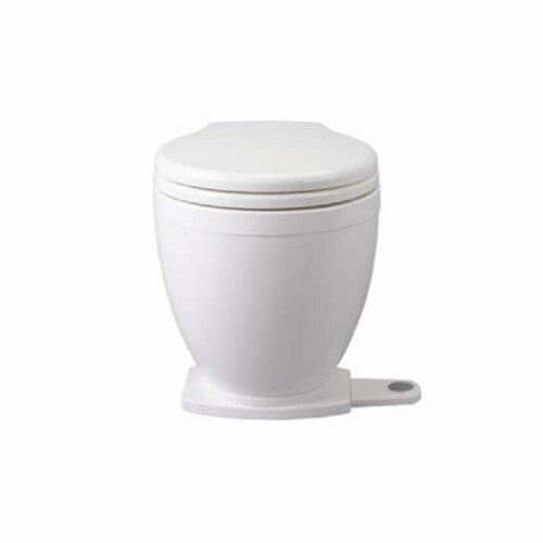 Jabsco Lite Flush Compact 12 Volt Marine WC elettrico con pannello di controllo