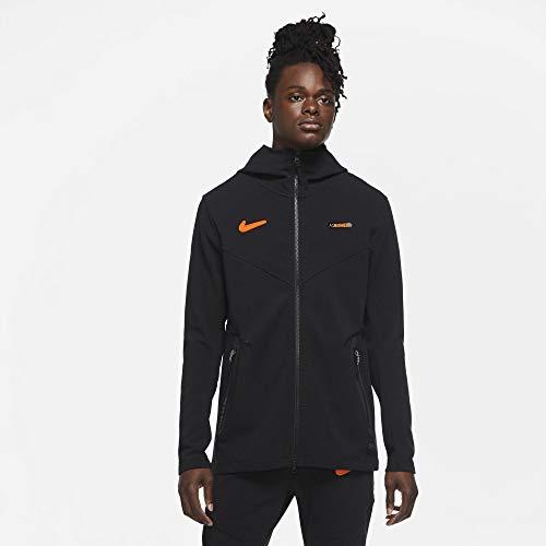 Nike AS Roma - Sudadera Tech Fleece con capucha y cremallera 2020-21