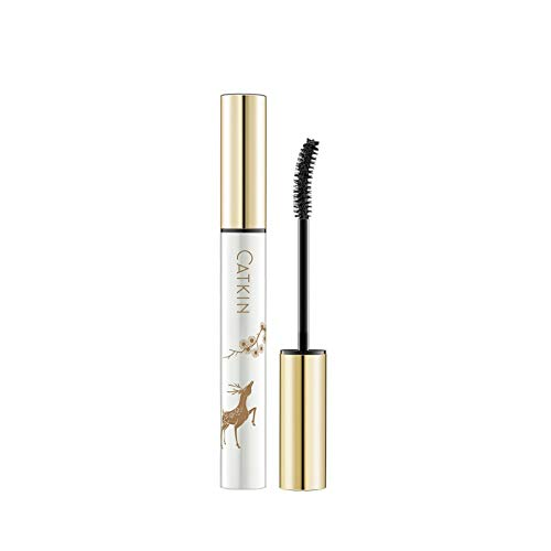NERB Long Lasting Black Mascara Intense Length Voluptuous Volume, Intense Length, Feathery Soft Full Lashes (Color : C02 Grey)