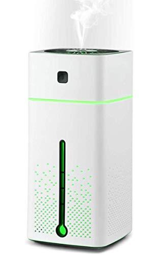 Ultraschall Luftbefeuchter Aroma Diffusor, 1000ML Aromatherapie Diffuser ätherische Öle Duftlampe mit 7 Farben LED Stimmungslicht Yoga, Büro, SPA, Schlafzimmer