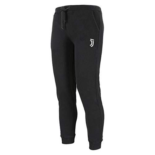 Juventus Pantaloni Tuta Unisex - con Logo - Originale - Bambino - Colore Nero - Taglia 6 Anni