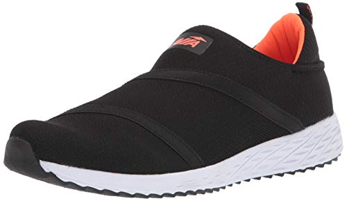 Avia mens Avi-culture Sneaker, Black/F Coral, 11.5 US