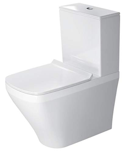 Duravit 2155090000 Taza DuraStyle, Salida Dual, Color Blanco (Cisterna y Asiento No Incluido)