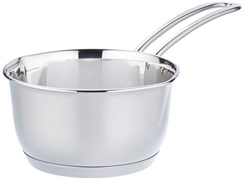 Küchenprofi Butterpfännchen, Edelstahl, Ø 12cm, Stainless_Steel, Silber, Ø 10cm
