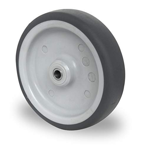 Einbaurad 150 mm Apparaterolle TPE