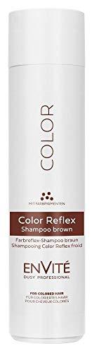 Dusy Envite Color Reflex Shampoo 250ml Haarshampoo mit Farbpigmenten (1 Stück, Braun)