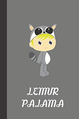 Lemur Pajama: small lined Lemur Notebook / Travel Journal to...