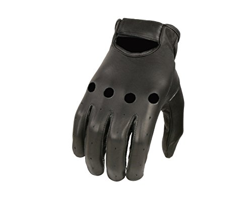 Shaf International Men's Basic Driving Gloves (Black, Large)