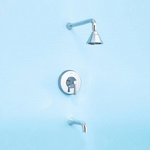 Nexus Dusche und Badewanne Trim Finish: Chrom poliert
