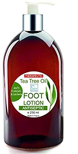 Crema di piedi Ultra Idratante terapeutica con olio di albero di tè Purificante Anti Hongos 250 ml – Deodorante Piedi