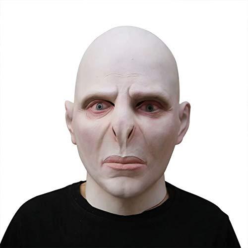 Voldemort Masker, Harry Potter Deluxe Latex Volledige Hoofd Masker Helm, Cosplay Halloween Cosplay Party Kostuum Props