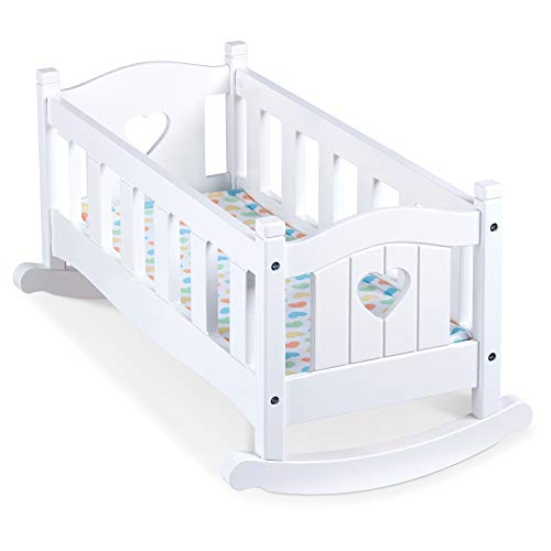 Melissa & Doug Wooden Play Cradle