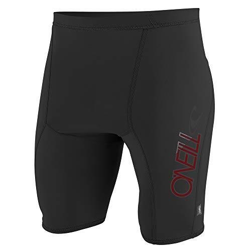 O'Neill Men's Premium Skins UPF 50+ Shorts, Black, L