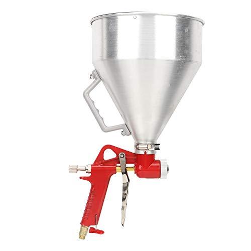 Spuitmachine, 6L 1/4 inch aluminium trechter luchtspuitmachine muurschildering verfspuit woondecoratie gereedschap 4/6 / 8mm