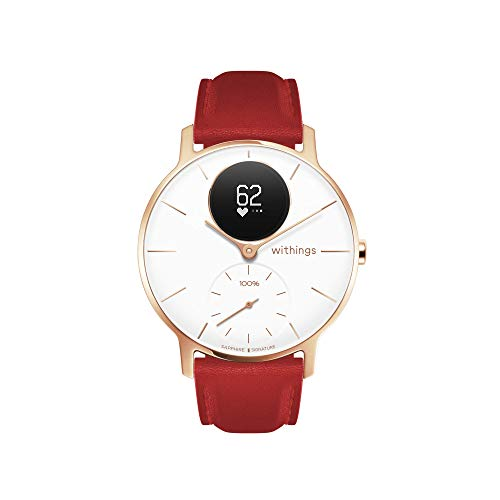 Withings Steel HR Hybrid Smartwatch - Reloj de fitness con frecuencia...