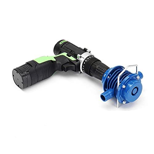 XNJHMS Bomba de Agua 25-50L / Min para Taladro eléctrico Mini Bomba autocebante Bomba de Taladro 7Mm Vástago Redondo Bombeo de CC