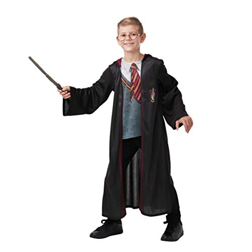 Rubie´s - Gryffindor Robe de Chambre, Unisex Children, 300142 7-8, Multicolore - Version Anglaise