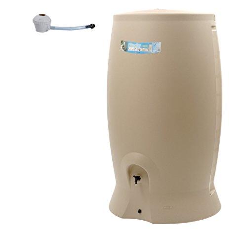 EDA Recup'O 1000L Rotomoulé Récupérateur d'eau, Beige