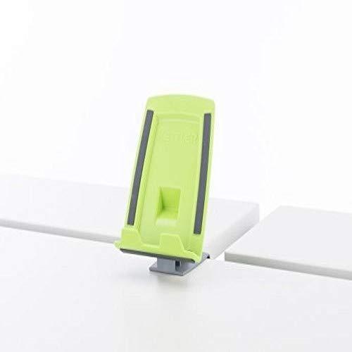 Kettler Klappbarer Tablet-/Handyhalter ABS/PP mit Gummistreifen grün, 10 x 10 x 16,5 cm