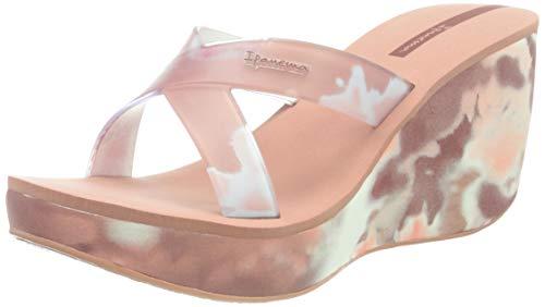 Ipanema Lipstick Straps VII, Sandalias con cuña Mujer, Pink/Pink, 41.5 EU