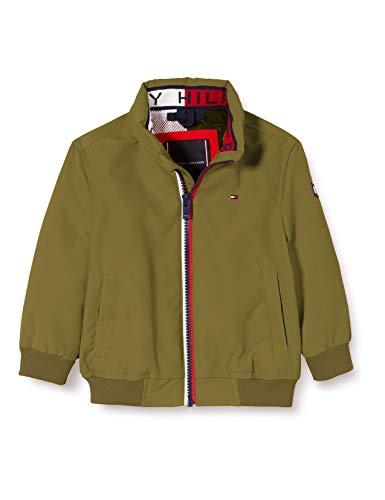 Tommy Hilfiger Jungen Essential Jacket Jacke, Grün (Uniform Olive L8q), 12-13 Jahre (Herstellergröße: 12)