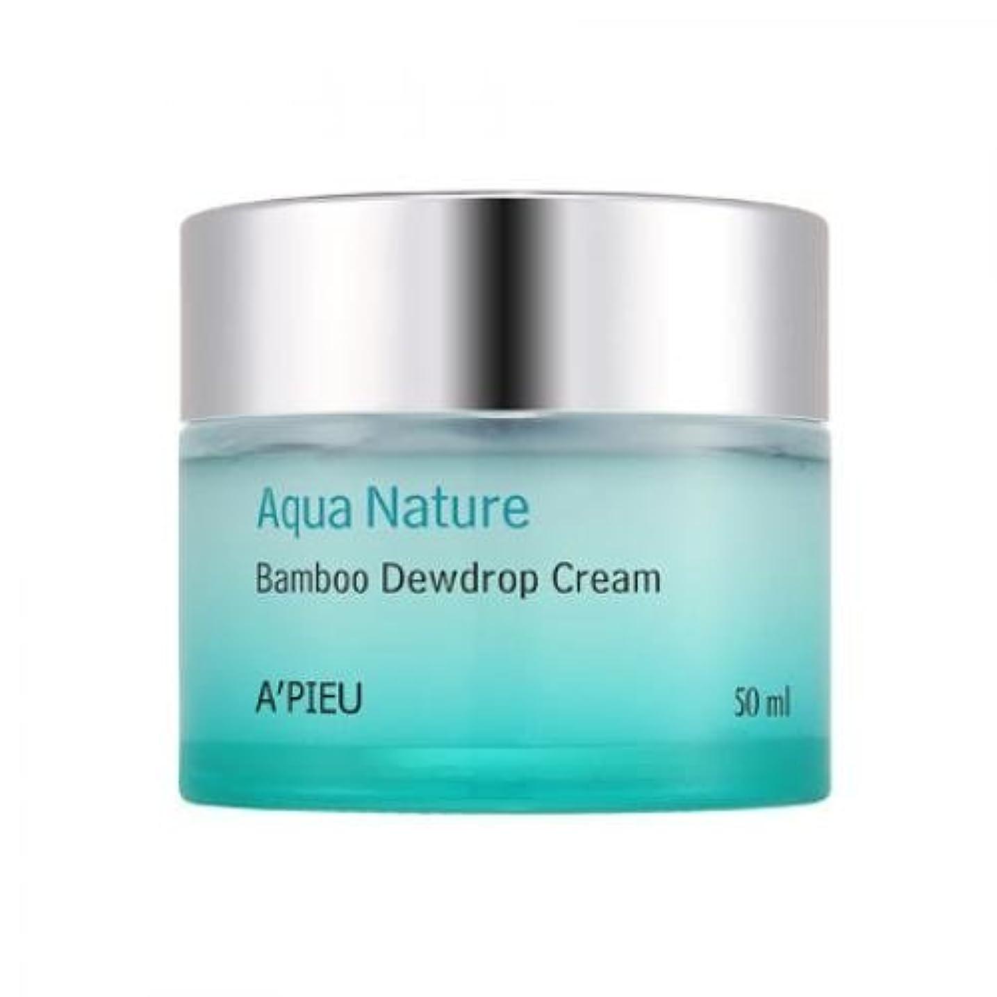 規定神話充電APIEU Aqua Nature Bamboo Dewdrop Cream [Korean Import]