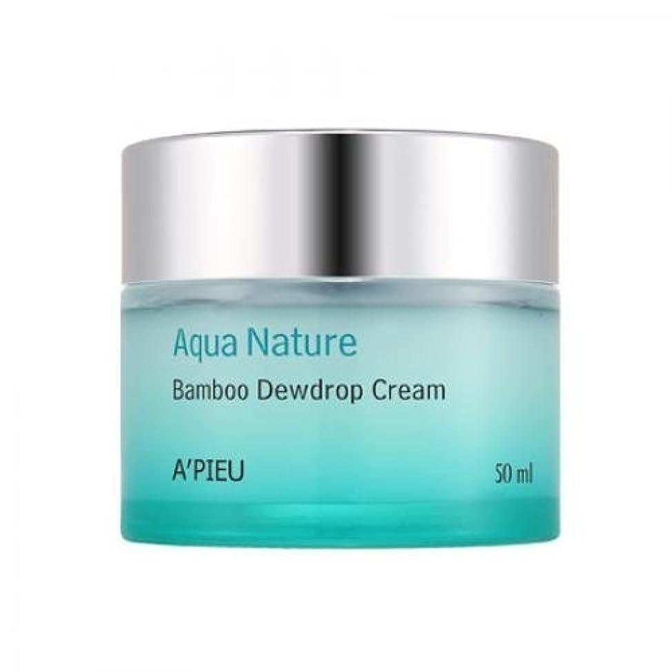 バトルアルファベット集団的APIEU Aqua Nature Bamboo Dewdrop Cream [Korean Import]