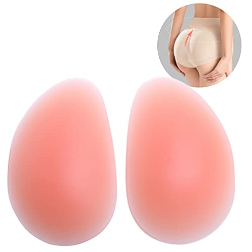 N.thr 1 Pair Silicone Butt Pads,Buttocks Enhancers Inserts Removable Padding for Padded,Suitable for all kinds of women s shaping pants