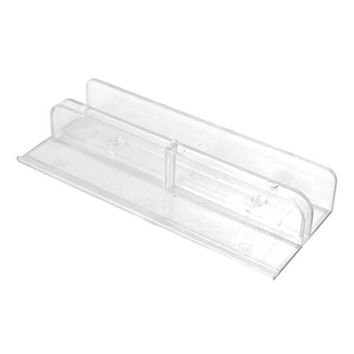 Prime-Line Products 191682 Shower Door Bottom Guide, International,Clear