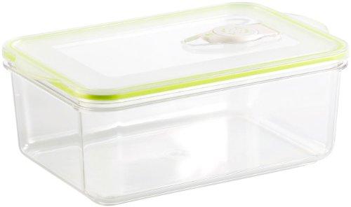 Rosenstein & Söhne Vakuumbox: Vakuumier-Box für Handvakuumierer, 1,3 Liter Volumen, 21,5 x 13,8 cm (Vakuum Frischhaltedosen)