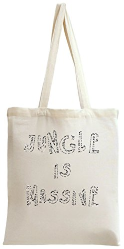 Jungle Is Massive Tote Bag