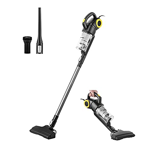 COMFEE  20S 3 in 1 Lightweight Stick Vacuum Cleaner, Powerful Suction Corded Handheld Vac for Pet Hair