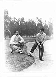 Dean Martin and Jerry Lewis golfing in The Caddy