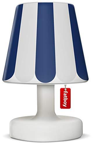 Fatboy® Edison the Petit + Cooper Cappie blue shade | Tischlampe / Outdoor Lampe / Nachttischlampe | Kabellos & per USB Aufladbar