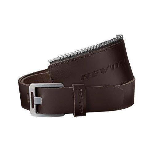 Revit, Safeway 30, gordel, motorriem met ritssluiting, bikerriem 95 cm bruin