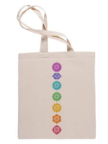 7 Chakren Kosmisch Energie Zentren Wiederverwendbare Einkaufstasche Reusable Tote Shopping Bag