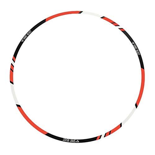 ACEACE 10/12 / 18In Streifen Motorrad Reifen Aufkleber wasserdichte Elektroroller Modified Reflektierende kreative Radaufkleber PVC Film (Color : 12 inch)