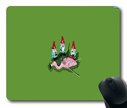 Lustige Gartenzwerge gegen Flamingo 14959 1280X800 Style Mouse Pad
