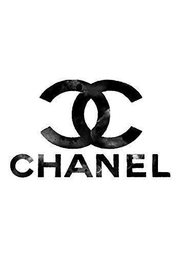 Sconosciuto Chanel Marchio Logo Muro Art Couture Poster 11240 (A3-A4-A5) - A3