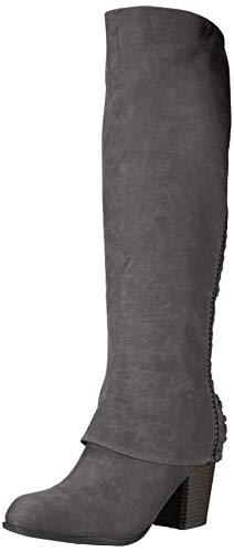 Fergalicious Women's Tender Knee High Boot, Denim, 12 M US