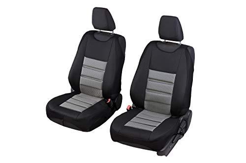 Universele hoezen polyester geeginet voor Nissan Micra een set voorstoelen 2 stuks TERRA