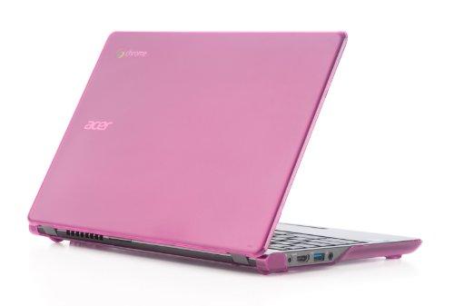 mCover Hartschalen-Schutzhülle für Acer Chromebook 39,6 cm (15.6 Zoll) nur für CB515 Serie (nicht kompatibel mit älteren C910/CB5-571/CB3-531-Modellen) rosa rose 11.6