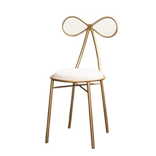 Barkruk, tuinstoel/tuinbarkruk, in een romantisch design, handgemaakt van ijzer, zithoogte 65 cm/75 cm, uitwaarts essen metalen stoel meubels 75cm