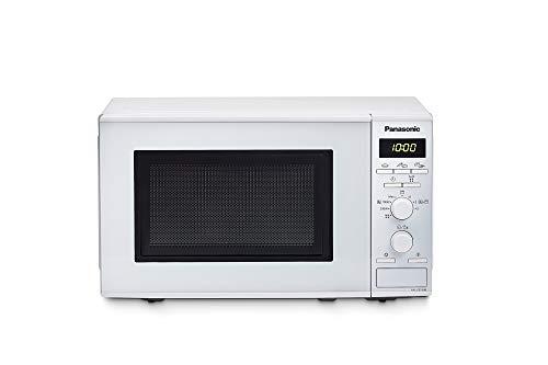 Panasonic NN-J151 - Microondas con Grill (1000 W, 20 L, 4 niveles, Grill Cuarzo 1100 W, Plato Giratorio 255 mm, 9 modos) Blanco